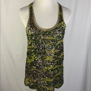 👾 Lucky Brand Sequined Tank Top